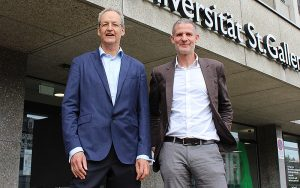 Beat Kegel (links) und Michael Mettler, Geschäftsführer der Mettiss AG.