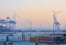 Blick auf den Containerhafen in Hamburg. Foto: Mediaserver Hamburg/Roberto Kai Hegeler