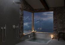 KWC AVA E bietet sich für alle Anwendungen und in verschiedenen Optionen im Bad an: Für den Waschtisch als Auf- und Unterputzarmatur, für Dusche und Wanne. Foto: KWC