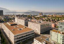 Bereits im Jahr 2023 soll der Siemens-Campus in Zug die Klimaneutralität erreichen. Foto: Siemens Schweiz AG