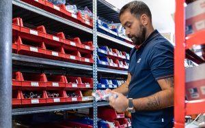 Die Dienstleistung marché@work stiess auf grosse Resonanz. Foto: Meier Tobler