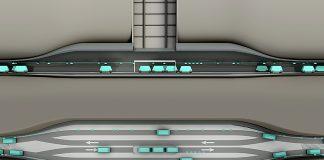 Cargo sous terrainbekommtzusätzlichen Schub. Visualisierung:CST
