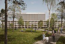 Die Kantonsspital Aarau AG rechnet mit einer 4,5-jährige Bauphase für den Neubau «Dreiklang».