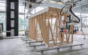 Der NFS Digitale Fabrikation hat sich zum Ziel gesetzt, die Architektur durch einen übergangslosen Prozess von digitalen Technologien zu physischen Bauprozessen zu revolutionieren. Foto: Gramazio Kohler Research ETH Zürich / ABB