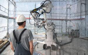 Die neue Kooperation und eine Spende in Höhe von CHF 2,5 Mio. machen die Schweiz zu einem der weltweit führenden Zentren in der Robotikforschung. Foto: Gramazio Kohler Research ETH Zürich / ABB