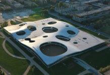 Das Rolex Learning Center der EPFL. Foto: Alain Herzog