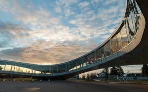 Das Rolex Learning Center der EPFL. Foto: Jamani Caillet