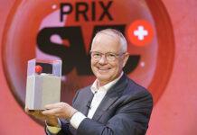 Der Gewinner Max Renggli, CEO & VR Praesident Renggli AG an der Preisverleihung des Prix SVC Zentralschweiz im KKL Luzern. Foto: SVC/Keystone/Manuel Lopez