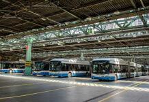 Die Siemens-Ladeinfrastruktur für die neuen e-Busse der VBZ wird im Untergeschoss der Busgarage Hardau installiert und soll Anfang 2022 in Betrieb genommen werden. Foto: Siemens