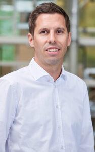 Reto Bättig, Geschäftsführer der Geberit Vertriebs AG. Foto: Geberit