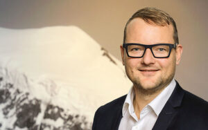 Christoph Arnold wird CEO der Poenina Holding AG. Foto: zvg