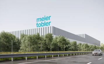 Visualisierung Fassade. Grafik: Meier Tobler AG