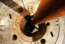 Bohrloch für Geothermie. Foto: zvg