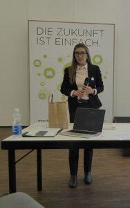 Durch den Sommerworkshop führte KGTV-Präsidentin Franziska Ryser (Nationalrätin, Grüne). Foto: zvg