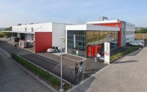 Der Hauptsitz der Mobil in Time Gruppe in Diessenhofen. Foto: zvg